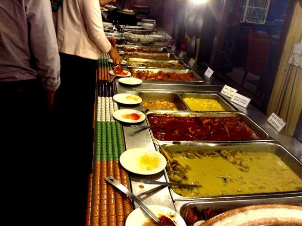 buffet ramadhan 2013, restoran rebung