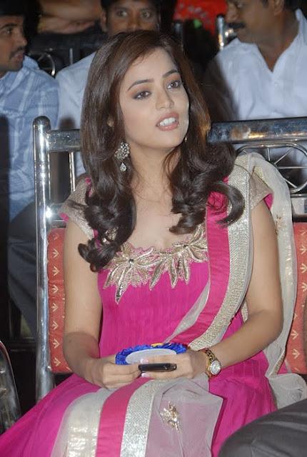 Nisha Agarwal In Pink Churidar