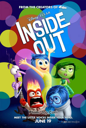 Inside Out 2015 poster