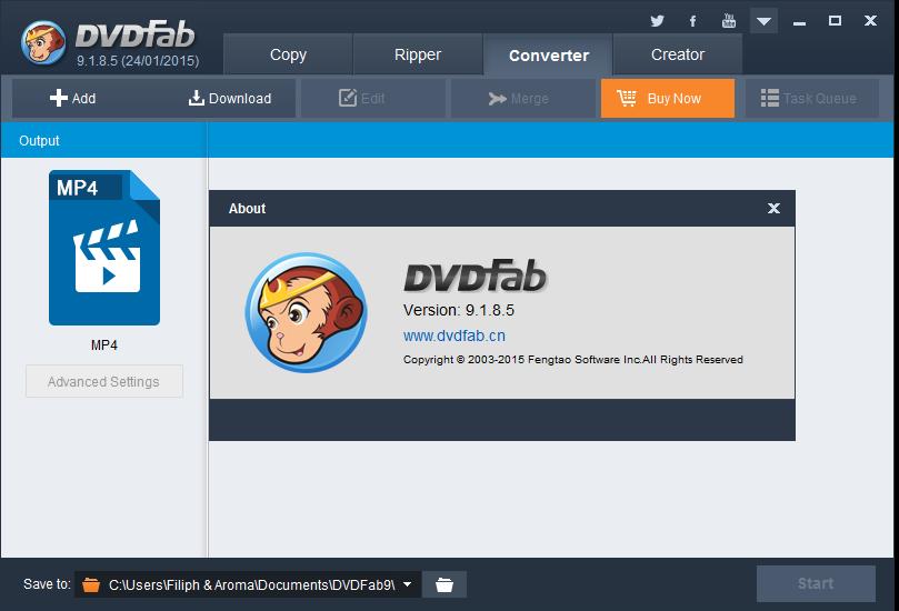 DVDFab v9.1.8.5 Multilingual Incl Patch-BRD Screenshot