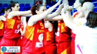 Selección Española de Baloncesto Femenina Eurobaske 2015