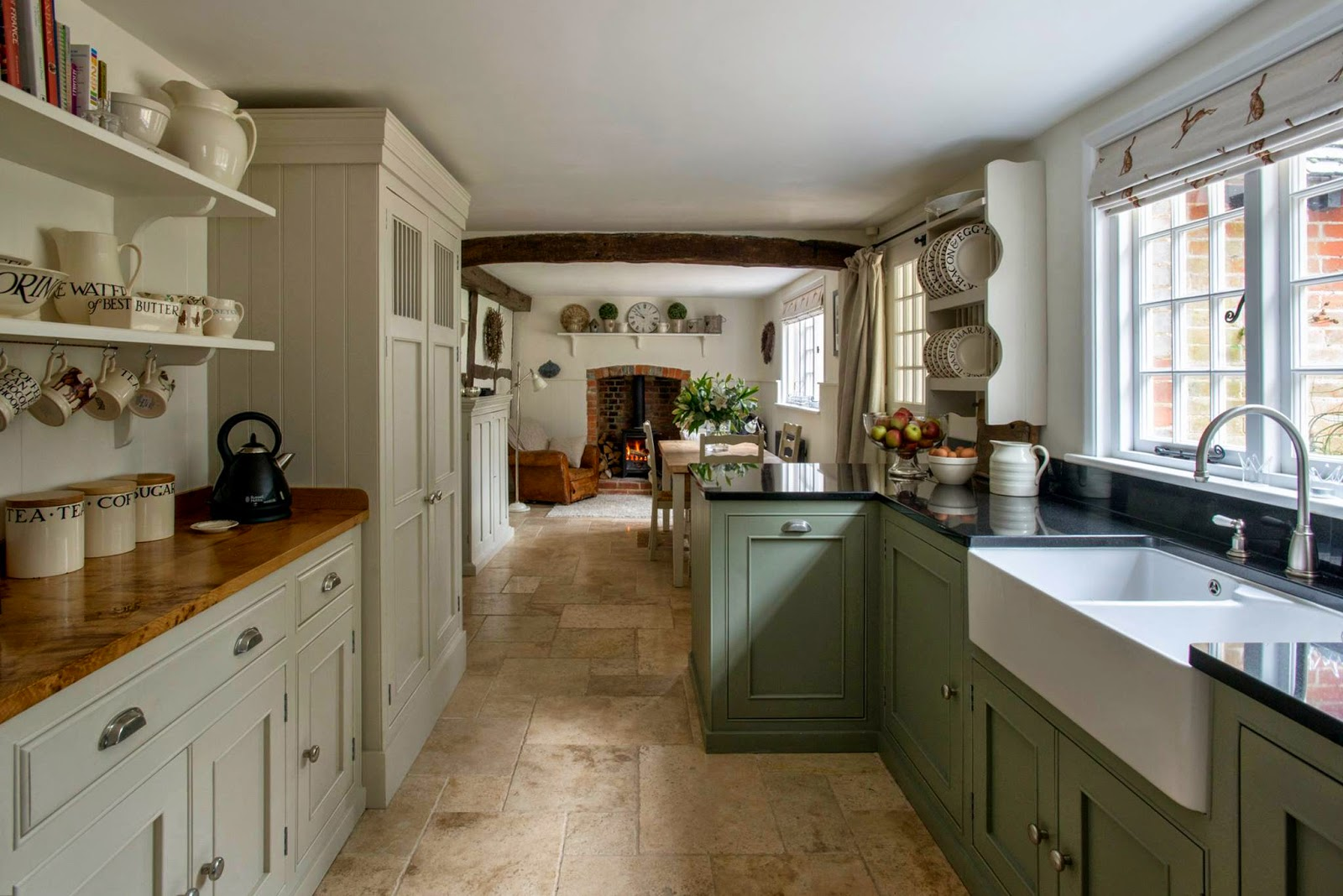 Modern Country Style Kitchen And Colour Scheme