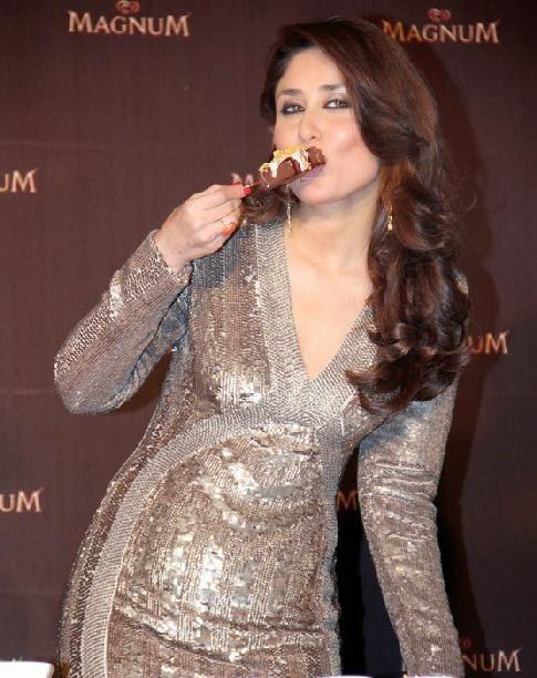 Kareena Kapoor at Magnum ice cream launch