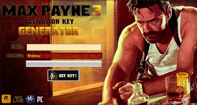 max payne activation key