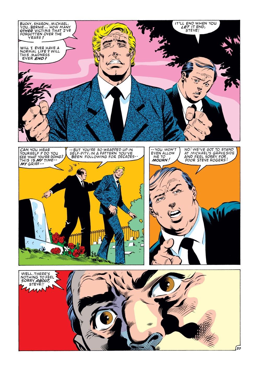 Captain America (1968) Issue #279 #195 - English 21
