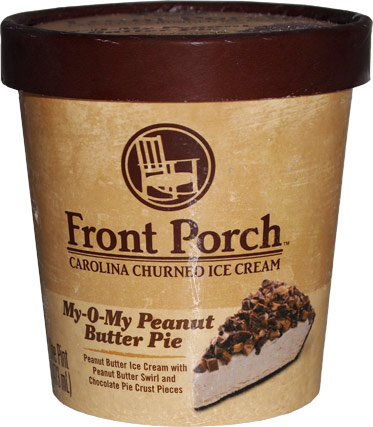 ... Scoop: Ice Cream Reviews: Front Porch My-O-My Peanut Butter Pie Review