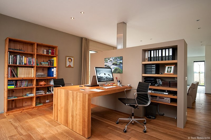 Earth Tone Inspired Office