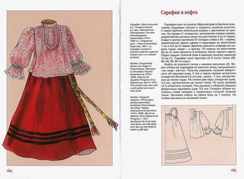 Как сшить русского костюма 697