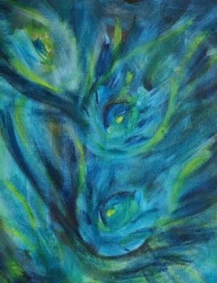 Remembering Krishna, Painting by Pooja Singh Chhetri on Indiaart.com