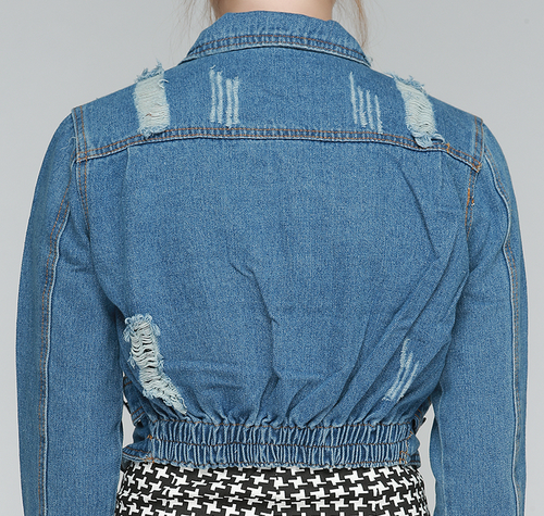 Slash Petit Denim Jacket