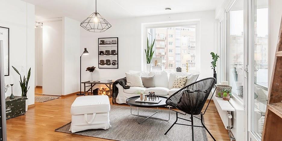Elegantny a stylovy skandinavsky byt / Elegant and stylish scandinavian apartment