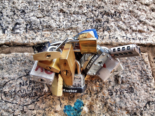 #padlock, #lock, #brooklynbridge, new york, ny