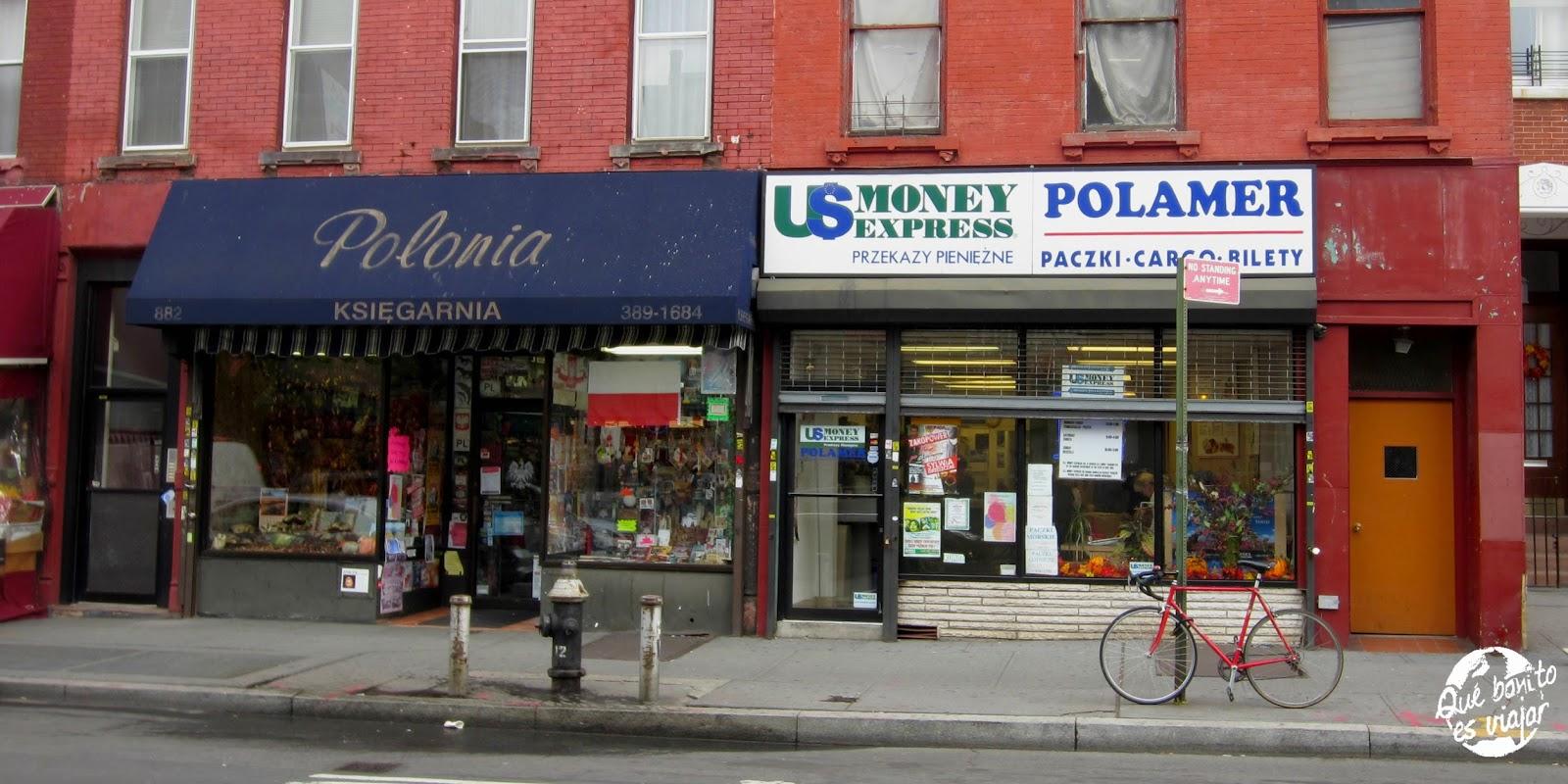 Visita a Greenpoint Nueva York
