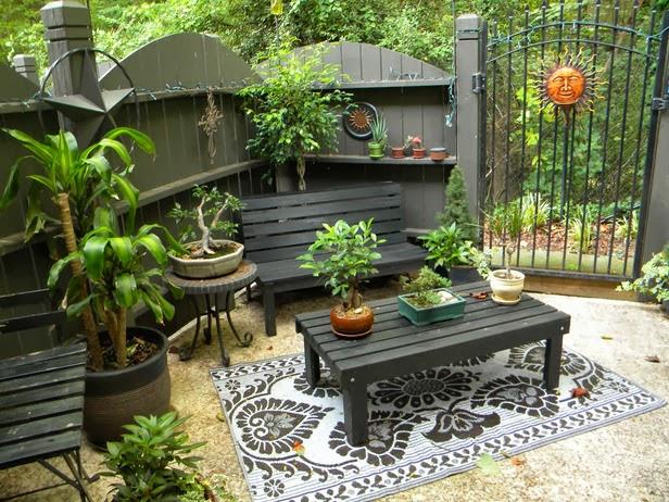 Home And Garden Ideas Patios : Patio ideas for small gardens idea garden design