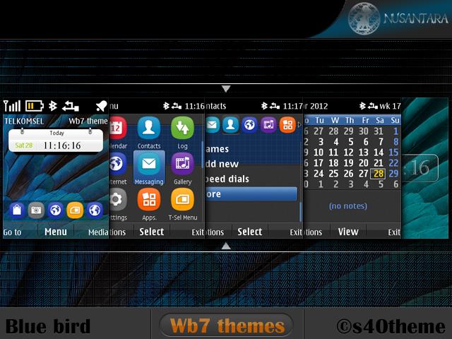 Nokia Asha 206 Themes