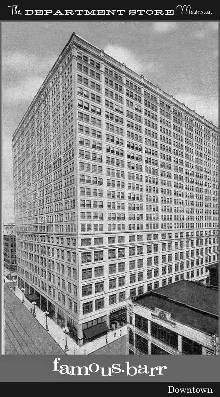 Furniture stores in st louis mo area - Eventually Famous Barr Grew Into 13 Floors Of The Landmark Terra Cotta Faced Structure