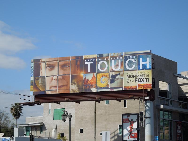 Kiefer Sutherland Touch billboard