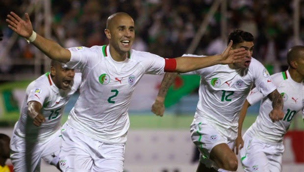 Watch Algeria live online. World Cup Brazil 2014 games free streaming. Best websites for football matches without signing up