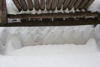 photo of heavy snowfall