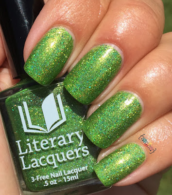 Literary Lacquers Can't Work By Lime Light