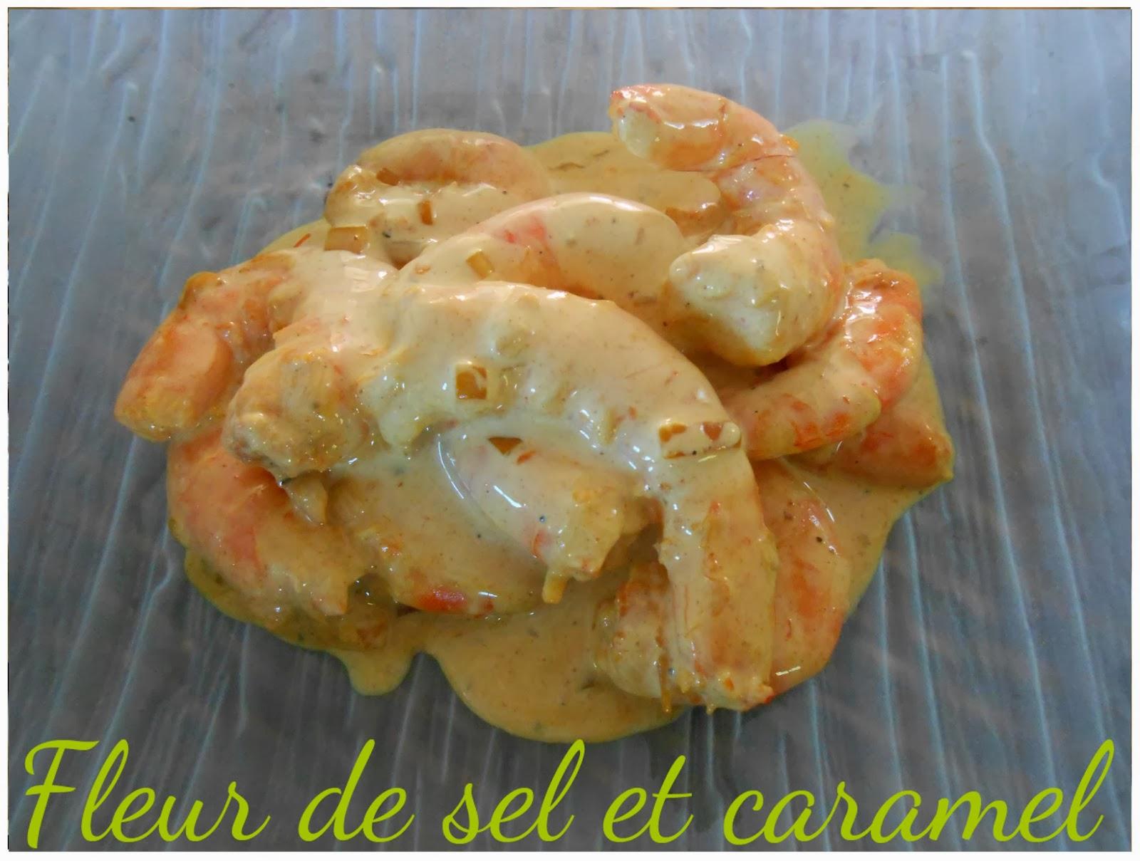 Crevettes épicées sauce soja