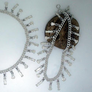 Traditional Indian Silver Anklets