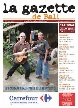 la gazette de bali juin 2011