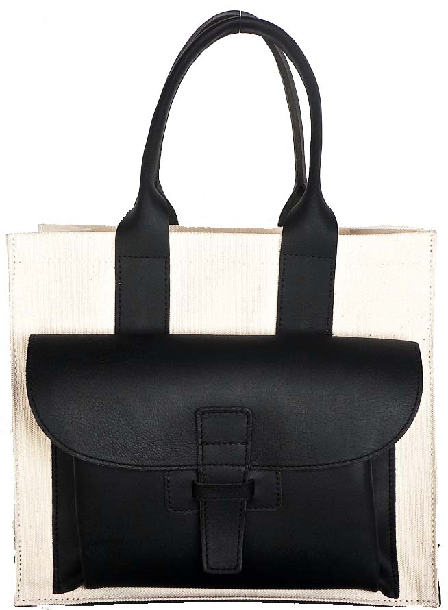 Agnes Baddoo Black Buffalo Leather Bags