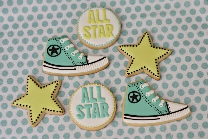 The Holland House: Chuck Taylor Baby Shower Cookies