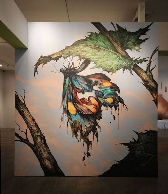 Green Pear Diaries, arte urbano, Museo de Arte de Long Beach, Vitality and Verve, Esao Andrews