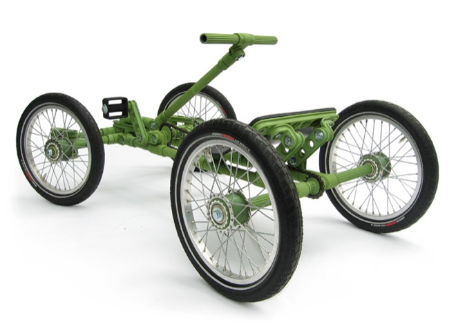Cool Stuff: Kids Build Bikes and Cars With Life-Sized \'Construction Toy\'