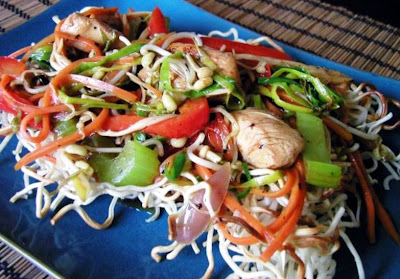 Chow mein - low fat version