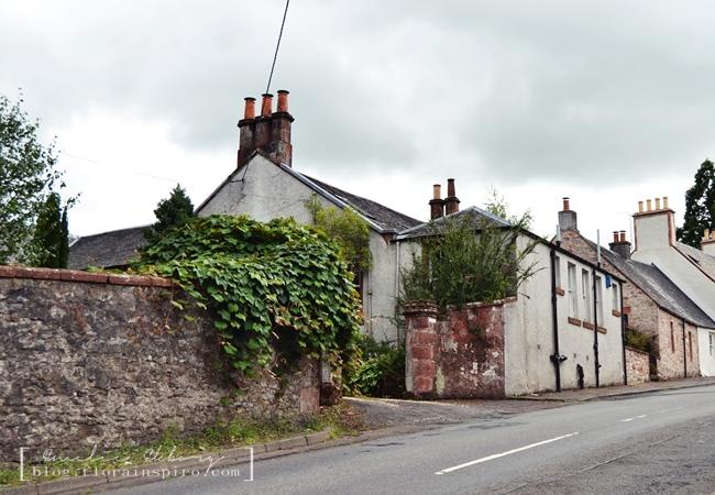 kippen village scotland, kippen scotland, farm house cottag, kippen village Stirlingshire