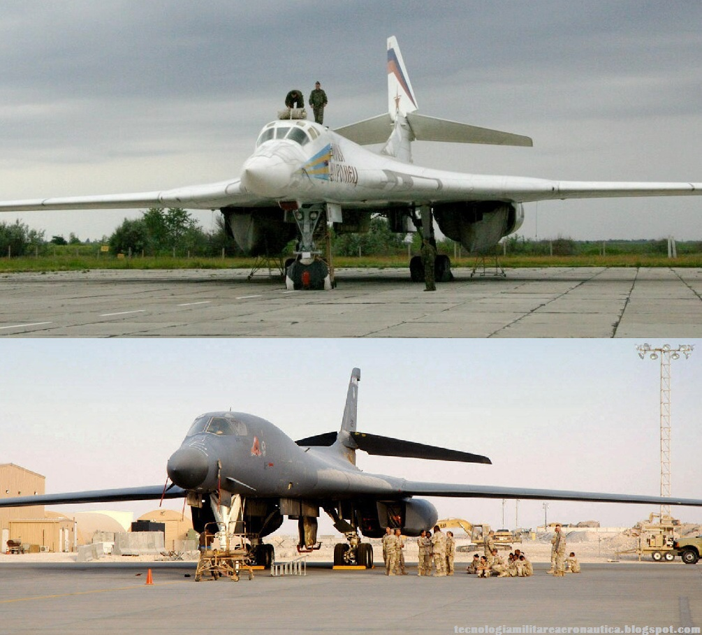An interesting infographic I found on the future Russian ... B1 Lancer Vs Tu 160