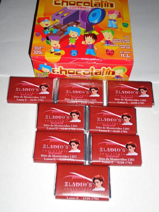 chocolates personalizados con publicidad propia