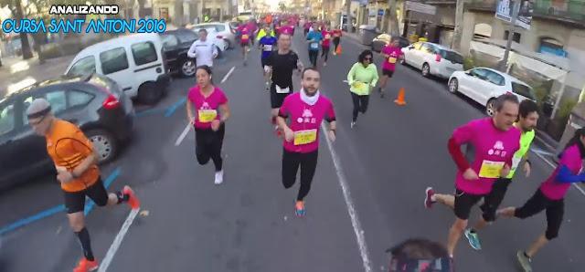 Bajando por Ronda Sant Antoni