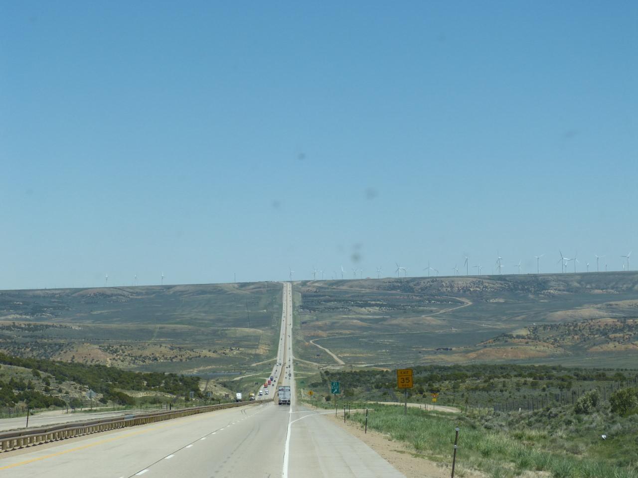 Usa 5 Salt Lake City Utah To Rock Springs Wyoming The