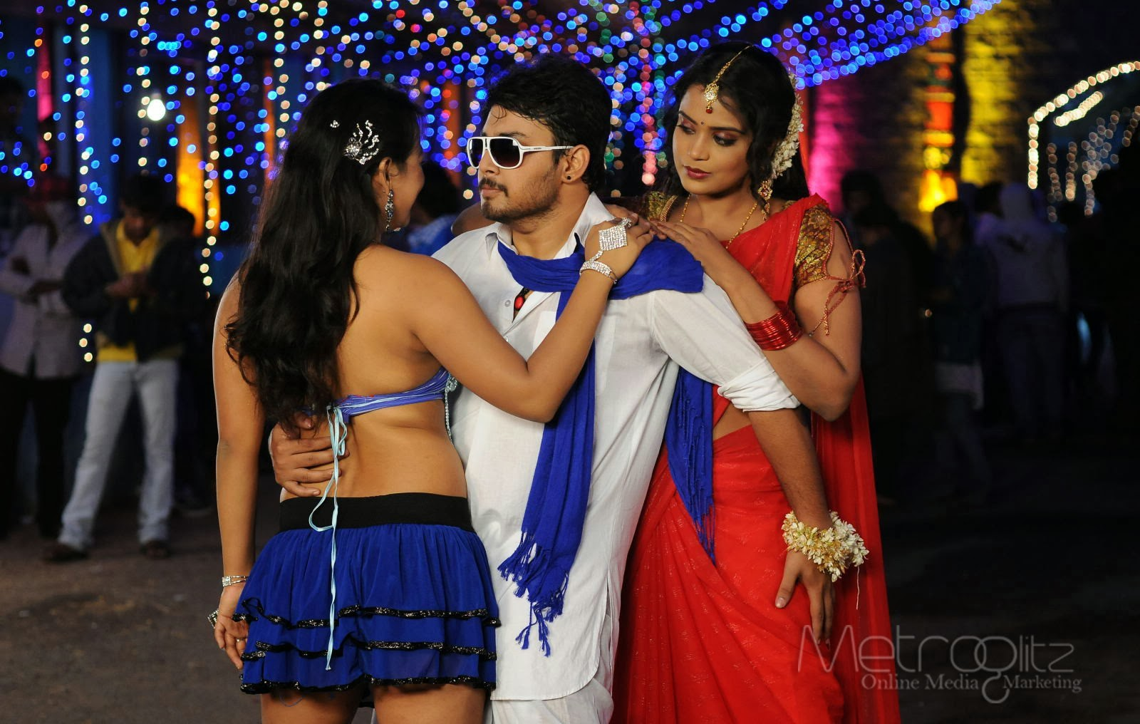 Telugu style movie