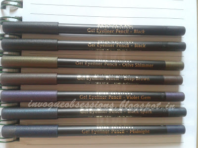 Kryolan Ikonic Gel Eyeliner Pencils In India