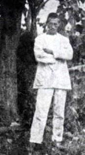 Arthur Rimbaud in Harar, 1883.