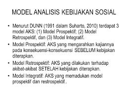 Model-Model Kebijakan Sosial