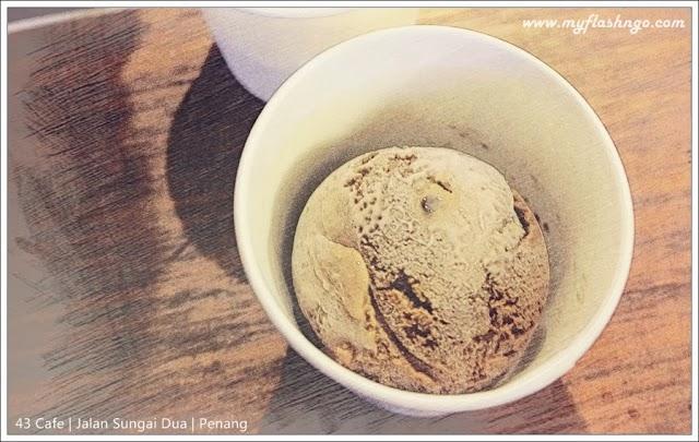 槟城美食与 Cafe   43 Cafe 爱上酒香雪糕 @ Sungai Dua Penang