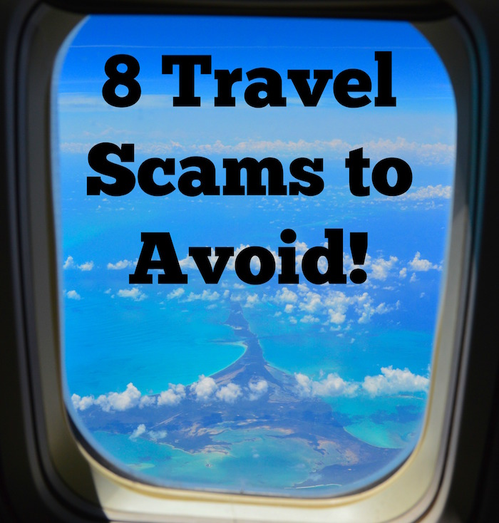 how to avoid scams when traveling