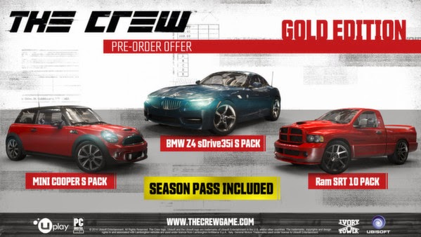 Download The Crew Pc Gold Edition MAXAGENT + Crack v1.0