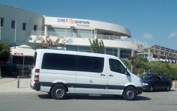 Δρομολόγια πραγματοποιούνται προς όλη την Κρήτη.