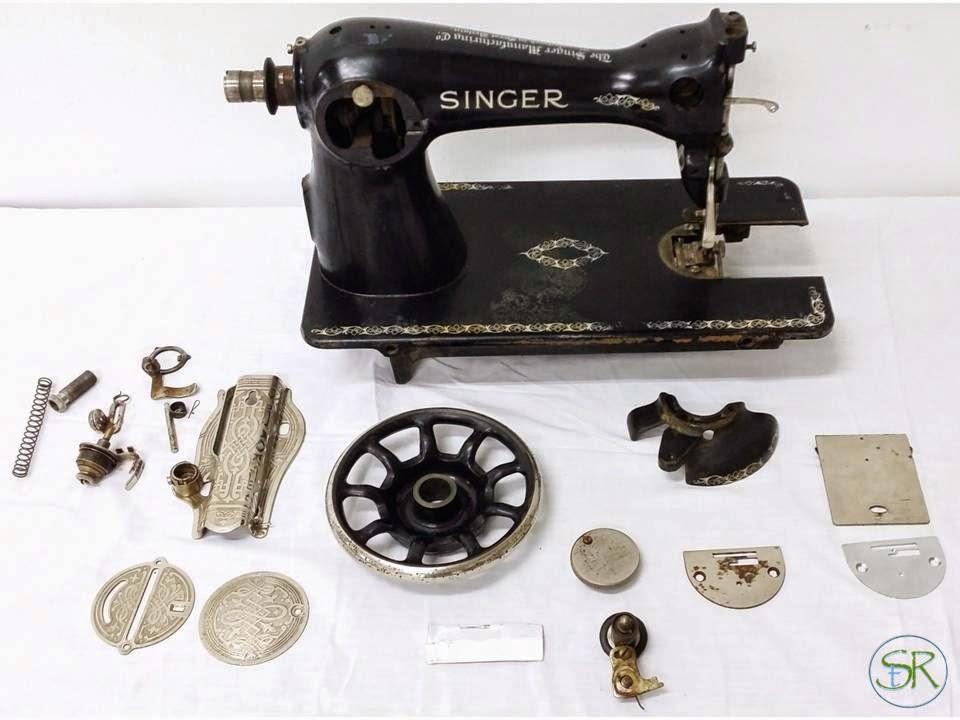 Sandáraca taller de Restauración: Maquina de coser Singer
