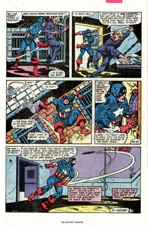 Captain America (1968) Issue #260 #175 - English 29