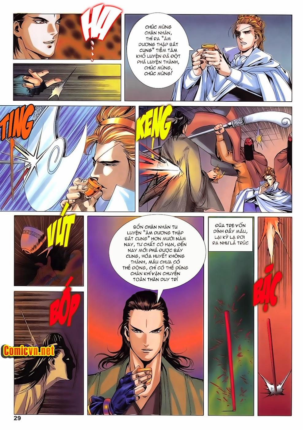 Lục Đạo Thiên Thư chap 14 - Trang 29