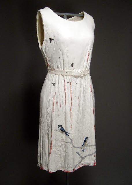 Jen Harmon Allen plaster dress Barn Swallow Dress