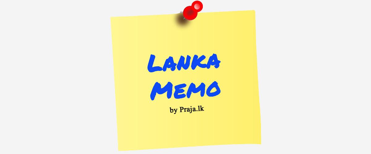 Lanka Memo